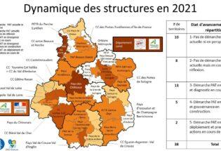2-Cartographie avancement 2021