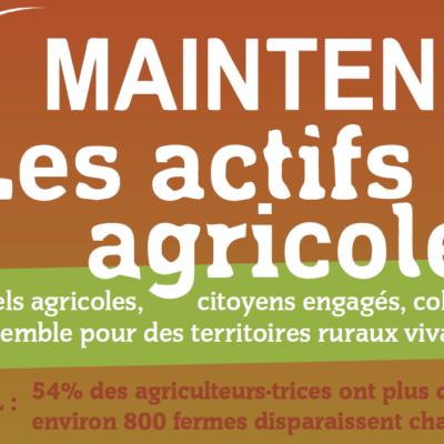 Colloque : comment maintenir des actifs agricoles sur notre territoire ?